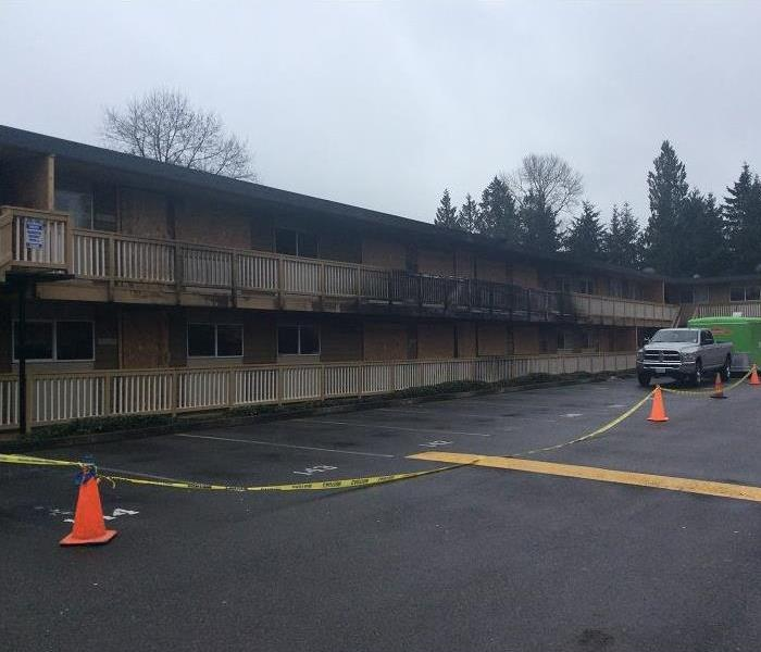 SERVPRO of Walnut assisting an apartment Fire in Seattle, WA