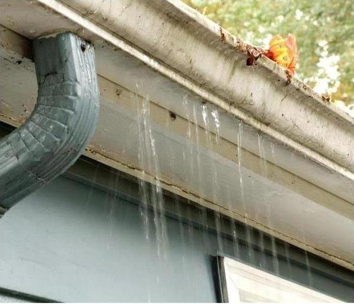 Storm Damage Be Sure to Clean Your Gutters