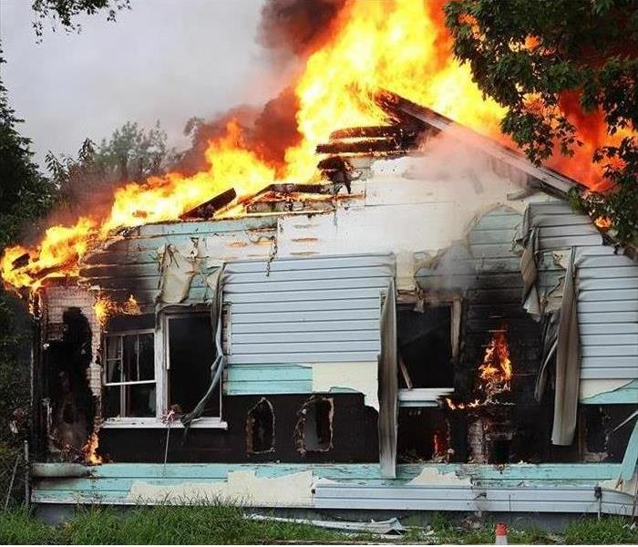 Fire Damage SERVPRO Steps to Restore your Fire Damaged Home!